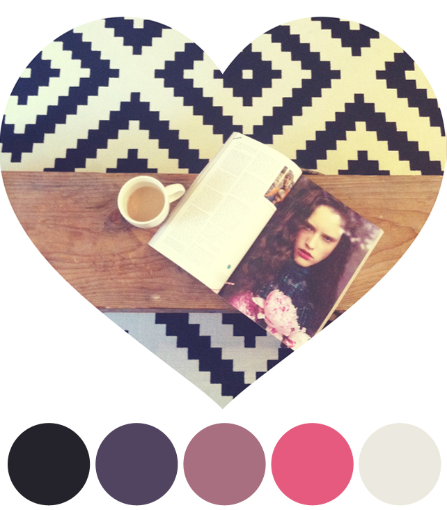 Color Schemes Inspired by Instagram Photos