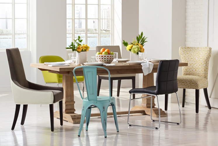 There S More Than One Way To Create A Beautiful Space Lesley Eclectic Dining Chairs Table