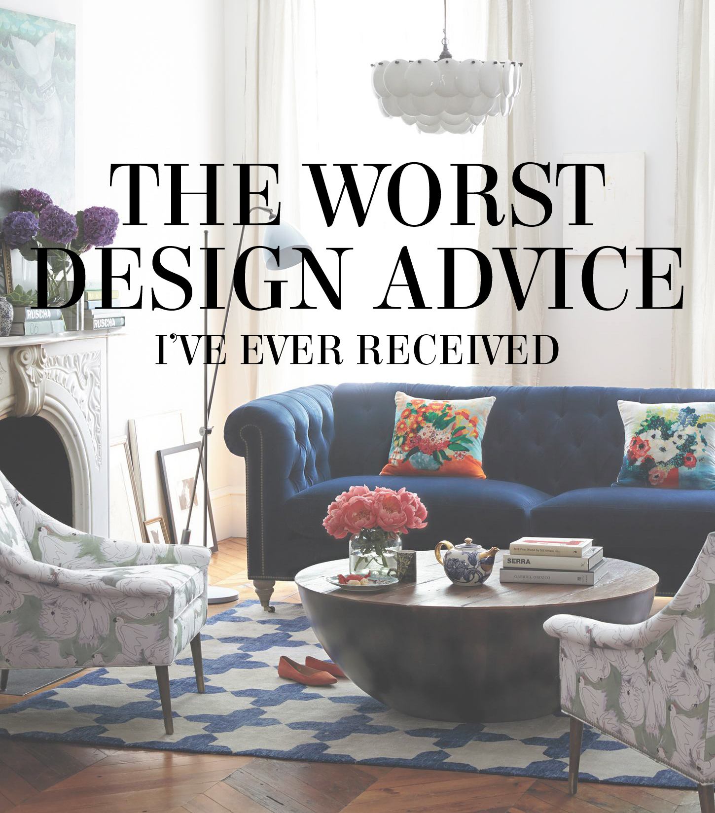"The worst design advice I've ever received - why ""should"" is a dirty word in design 