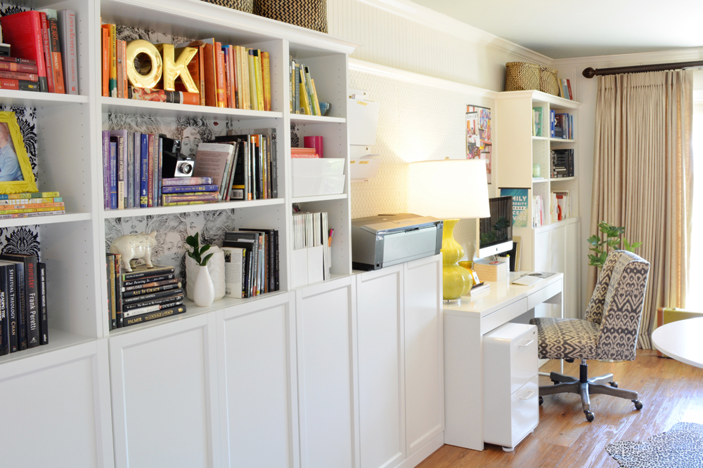 Waco interior designer Lesley Myrick's Home Office