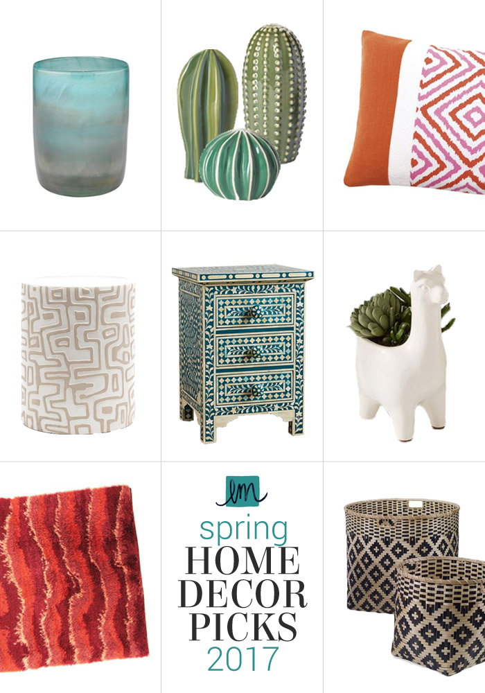 Spring 2017 Home Decor Picks
