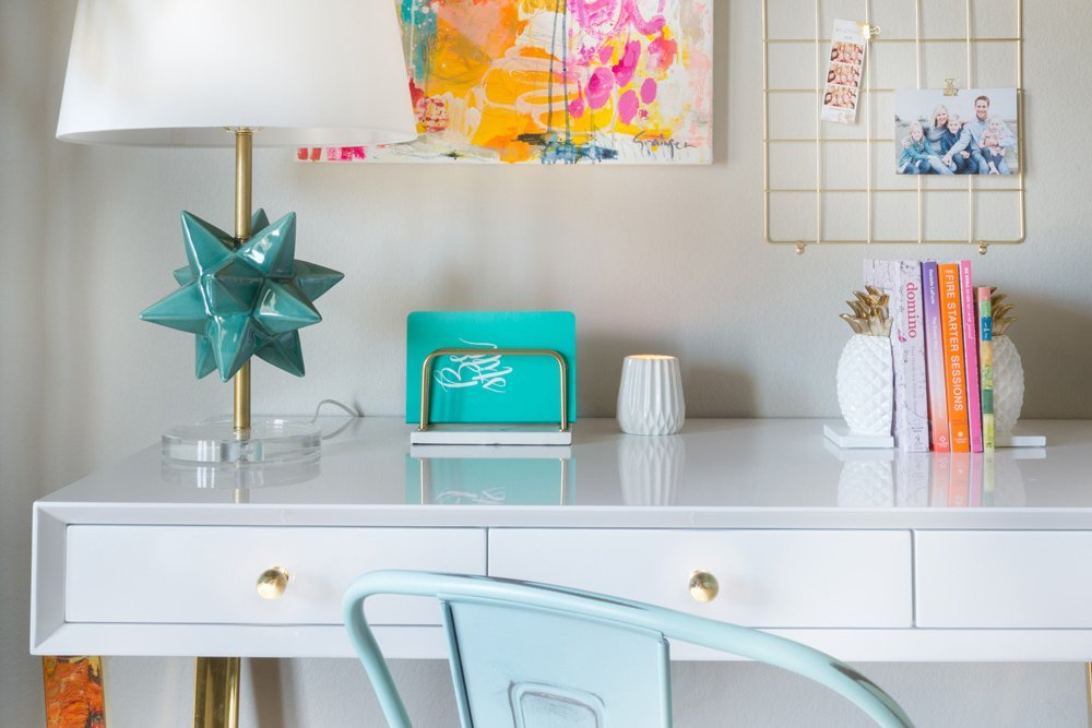 5 long weekend home update ideas you can use to spruce up your space in just one weekend, like creating a DIY artwork.