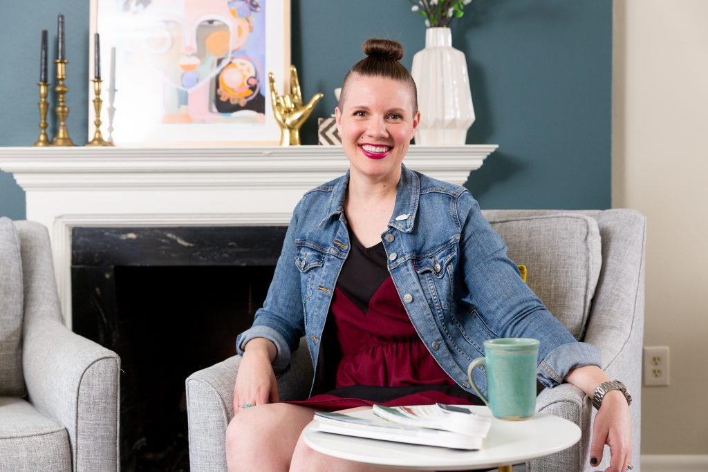 Make your small living room look larger with design tips from Macon interior designer Lesley Myrick.