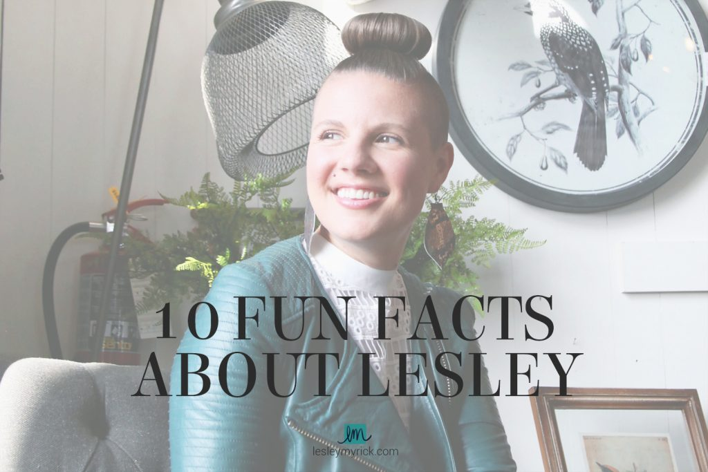 Get to know Atlanta interior designer Lesley Myrick with these 10 fun facts (including how tall she is, and something strange she's giving up for a year!)