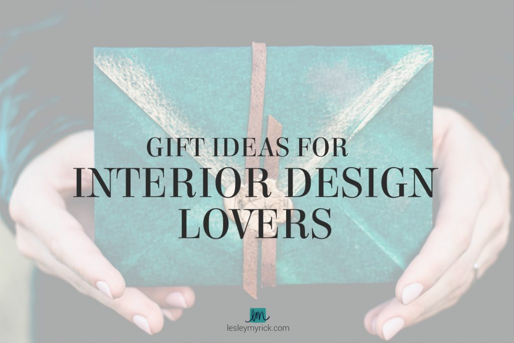 What do you get for that fabulously creative lady in your life when you want to knock her socks off with a great holiday gift? Here are a few gift ideas for interior design lovers.