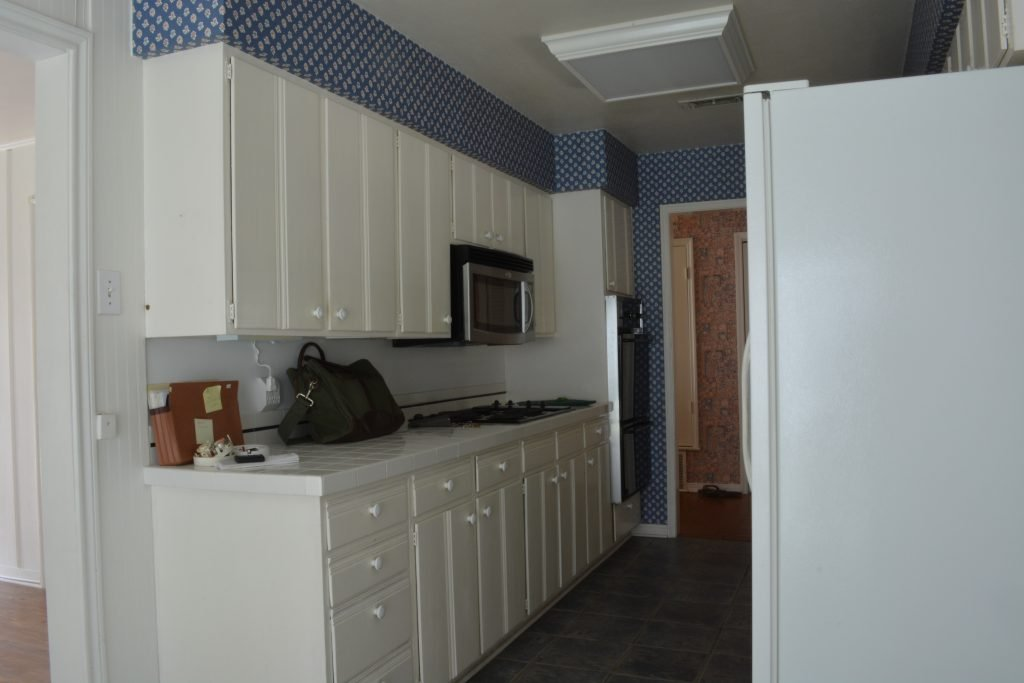 "You've gotta see the ""after"" of this  Waco, Texas Mid-Century kitchen!"