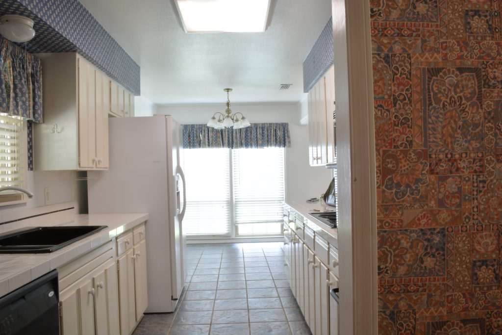 "You won't believe the ""after"" of this  Waco, Texas Mid-Century kitchen!"