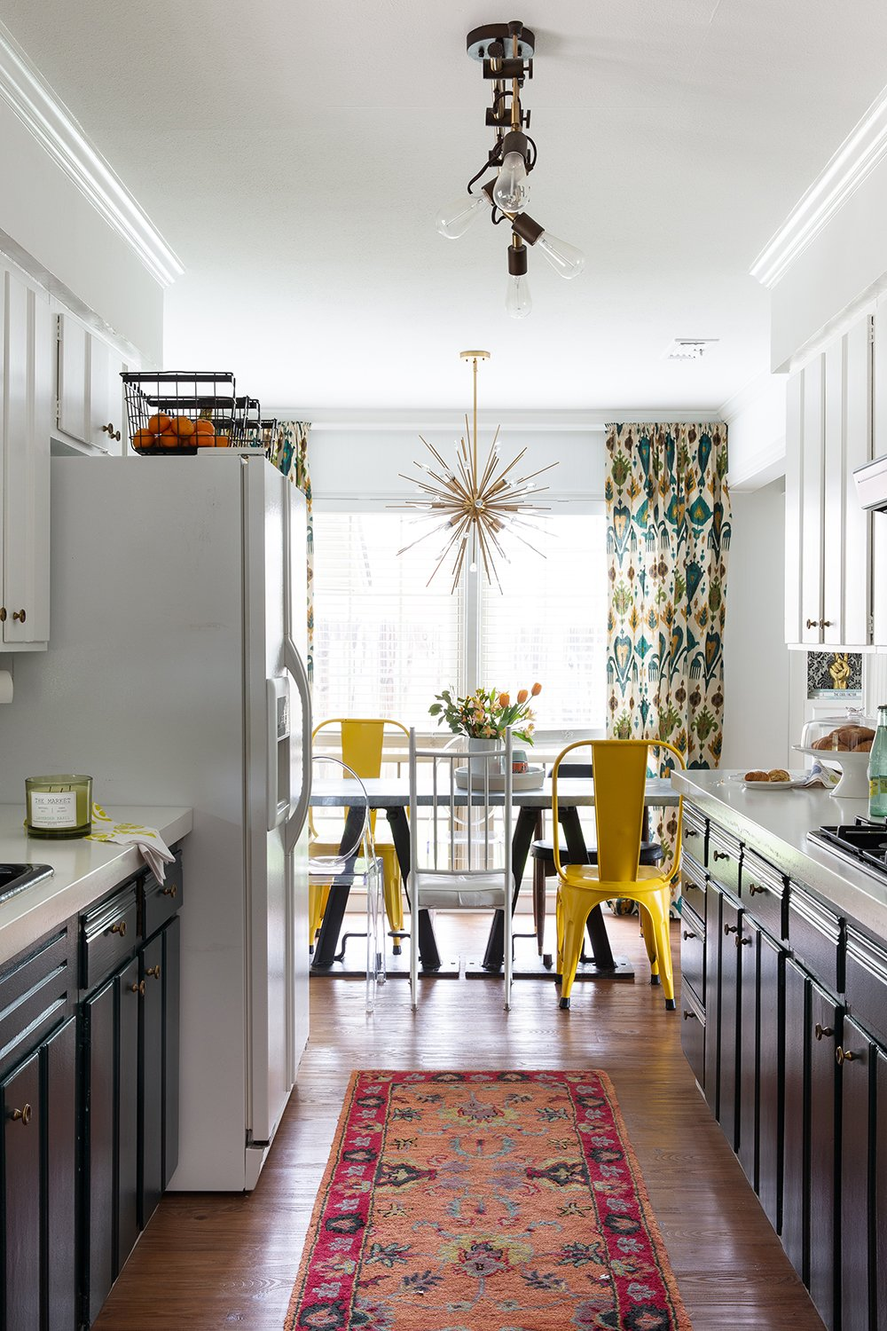 Overwhelmed by choosing lighting? Learn all about kitchen lighting selections in this useful post from interior designer Lesley Myrick.