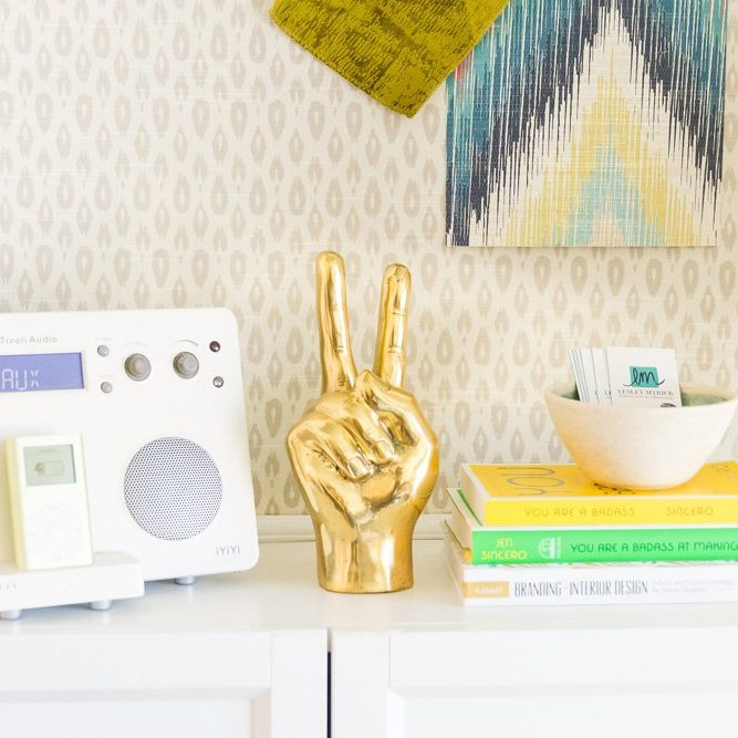 Peace out, myths! Here are 5 myths about interior designers that just aren't true.