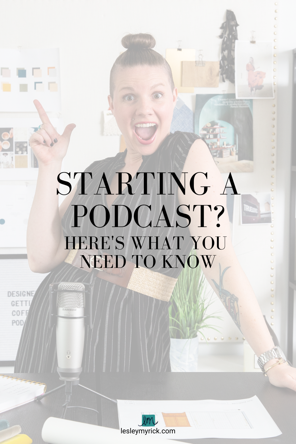 Starting a podcast? Here's what you need to know.