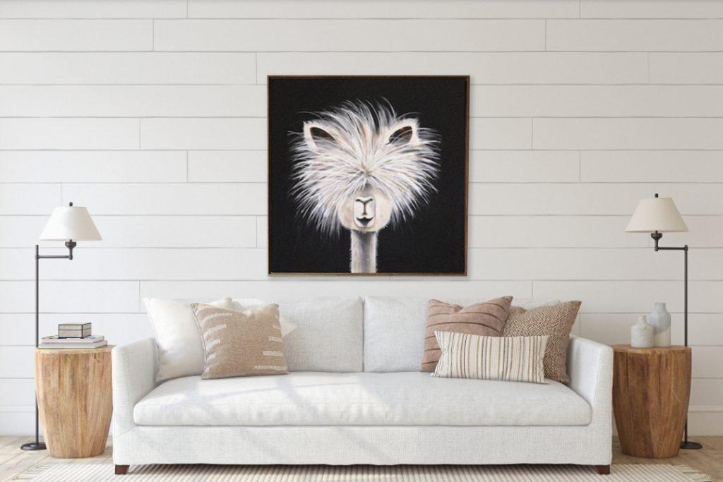 Llama by Rachel Brown