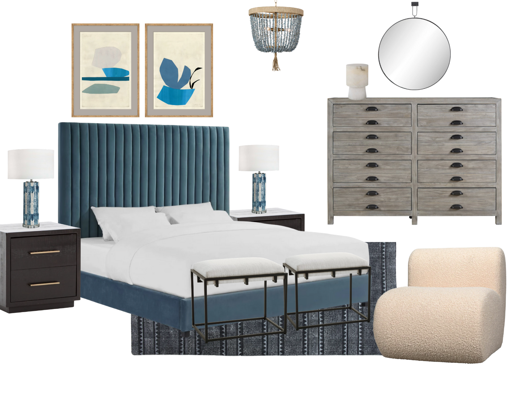 Trinity Bellwoods Bedroom for Instant Interiors