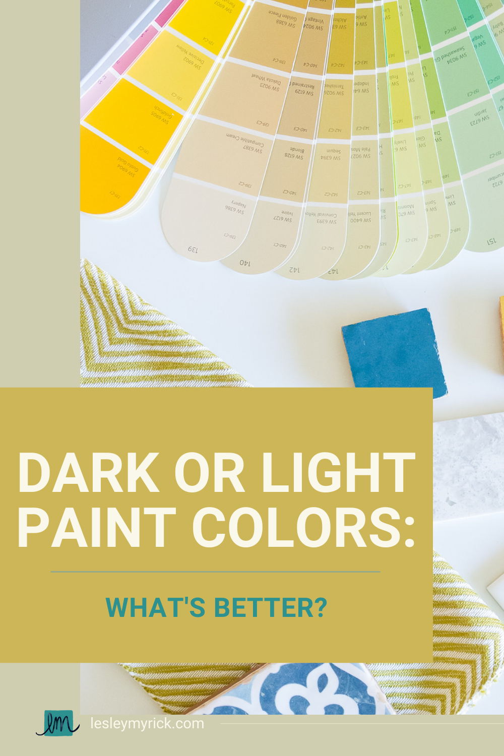 What's better - dark or light paint colors? We all know that picking paint colors is tricky. What a paint sample looks like in the store or on a swatch can be completely different than what it looks like in your room. Sometimes light paint colors can look disappointingly dull and drab on the walls, and dark colors can look surprisingly rich and welcoming. But before we can determine whether dark or light paint colors are better, we've gotta bust a couple of common paint color myths.