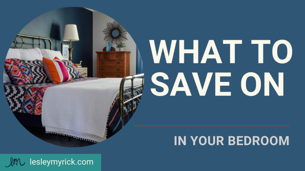 What to save on when designing your bedroom