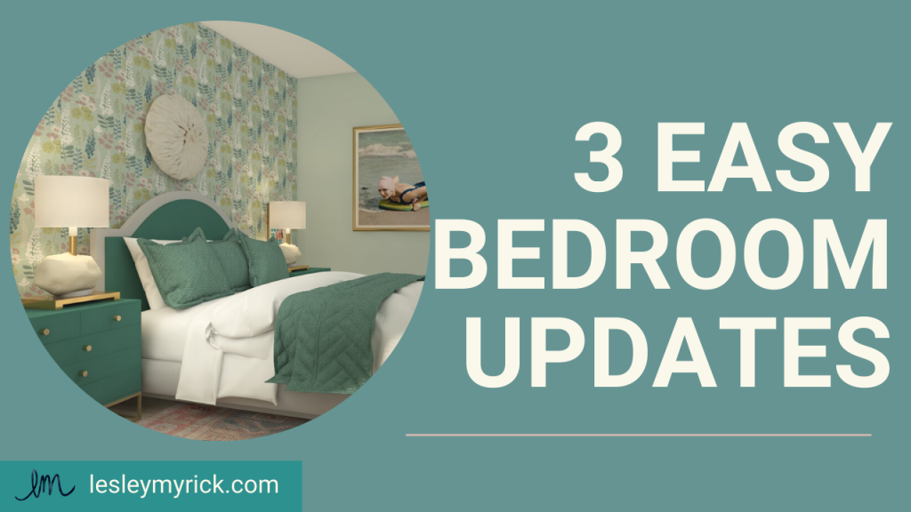 3 easy bedroom update ideas for busy moms