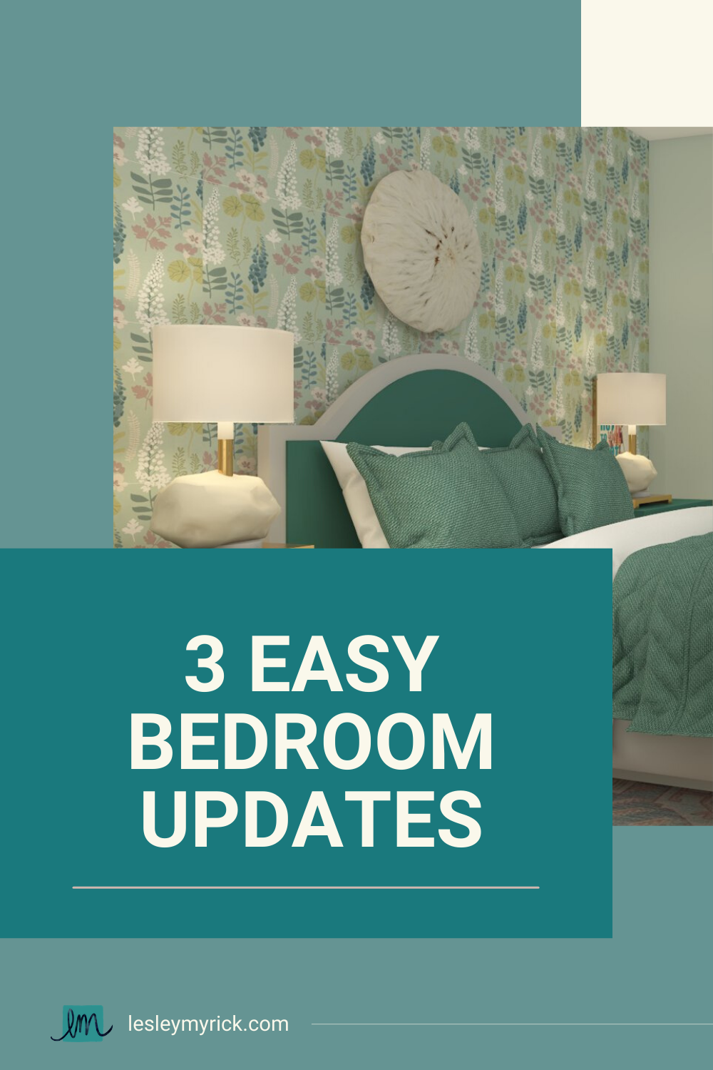 Bedroom update ideas for busy moms (plus shop our favorite nightstands, accent pillows, and bedroom art!)